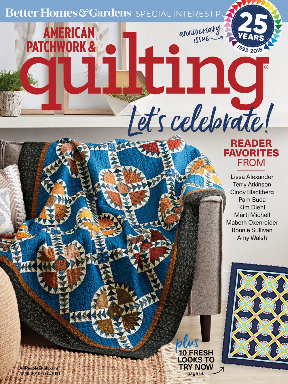 American Patchwork & Quilting April 2018