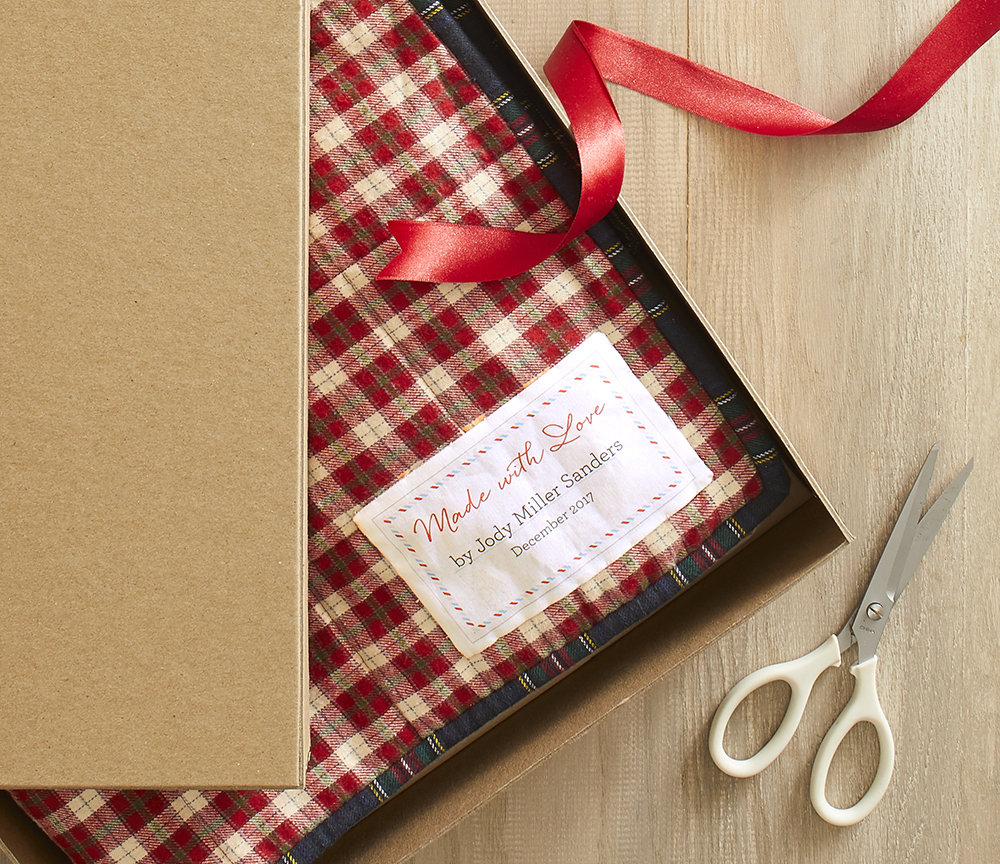 Free Quilt Labels for Your Holiday Gifts