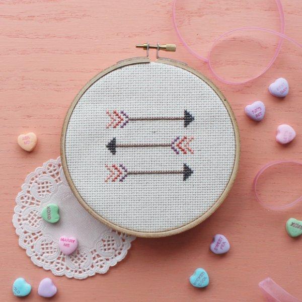 Arrow Cross-Stitch Pattern