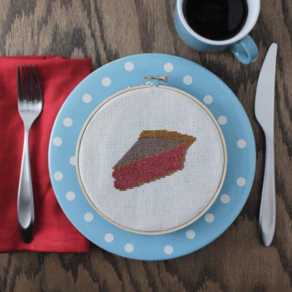 Pie Cross-Stitch Pattern