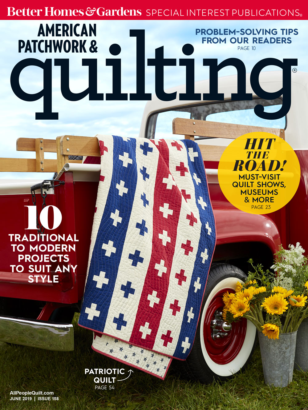 American Patchwork & Quilting June 2019