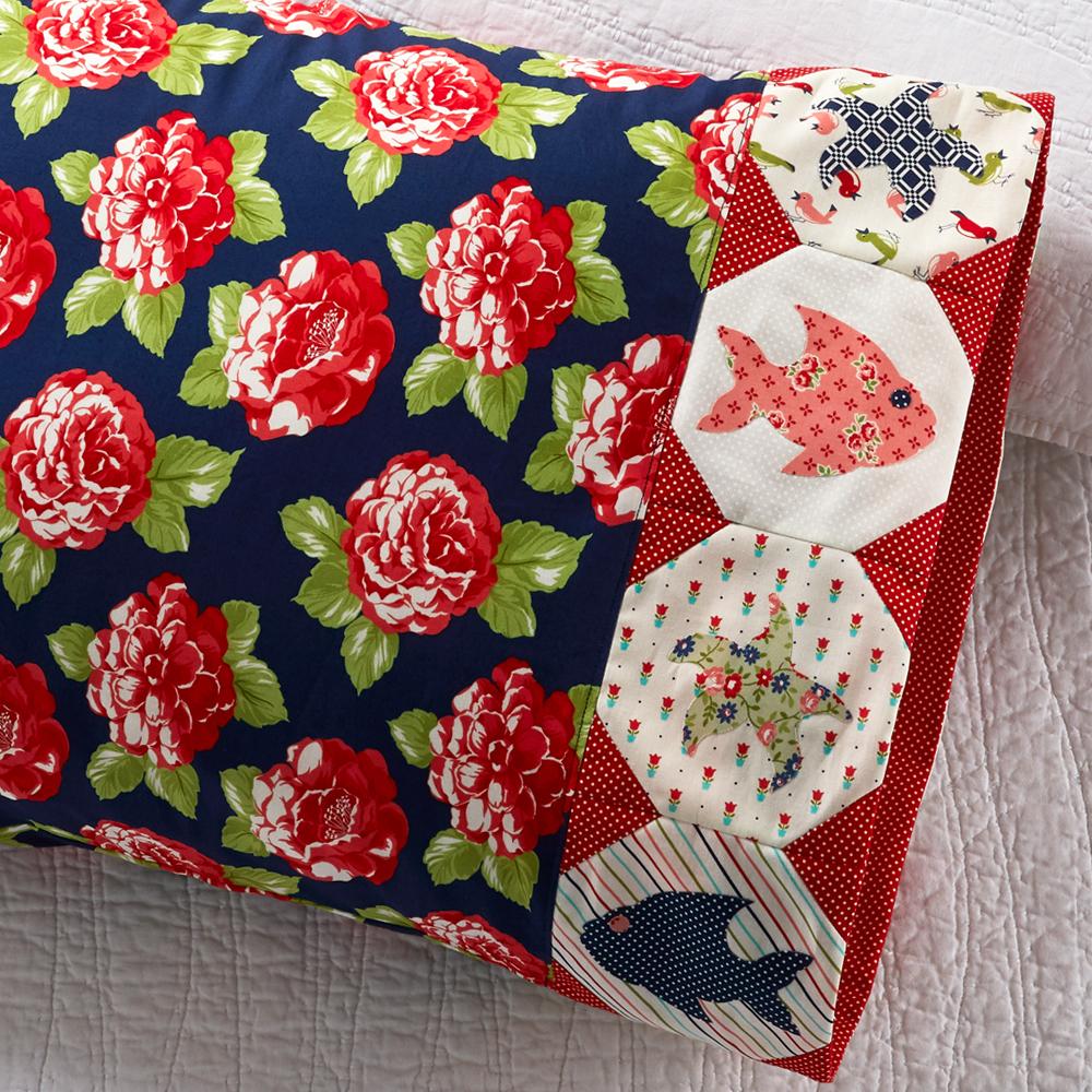 Moda Fabrics - Pillowcase 85: Fish Appliqué