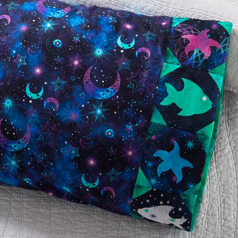Northcott - Pillowcase 85: Fish Appliqué