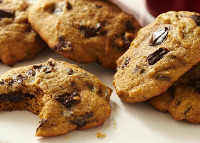 Pumpkin Chocolate Cookies