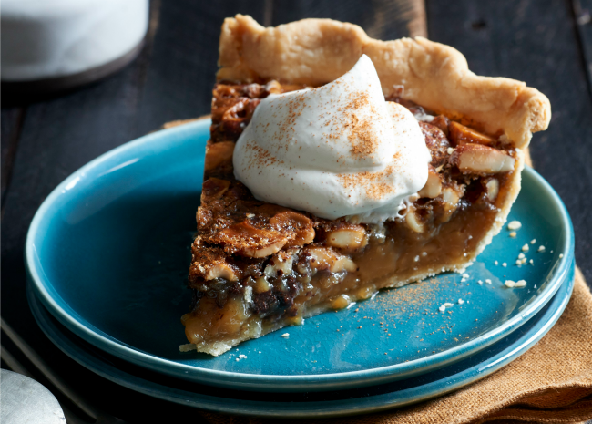 Pie with Whipped Cream
