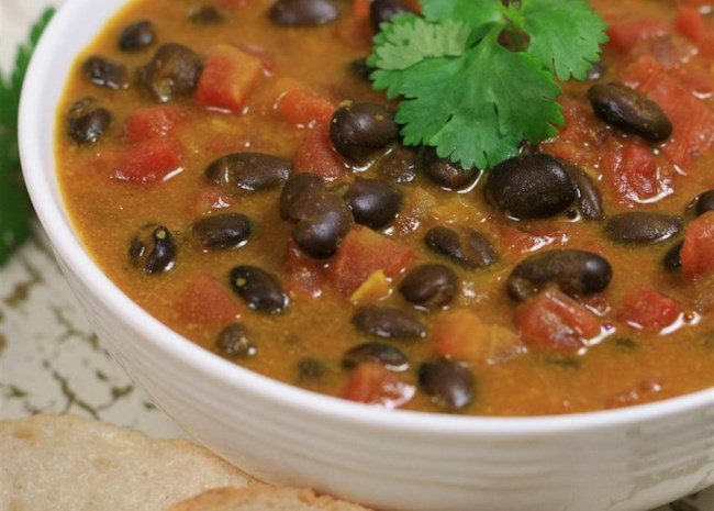 Coconut-Black Bean Soup