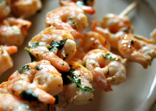 Grilled Marinated Shrimp