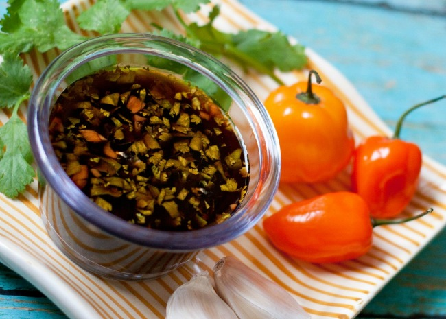 Spicy Habanero Dipping Sauce