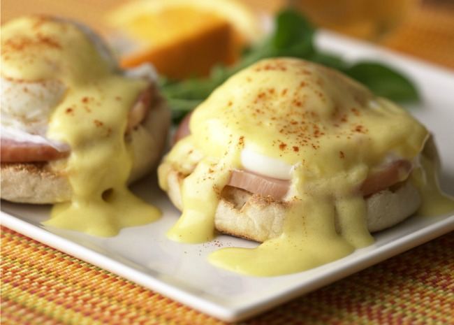 Beautiful Eggs Benedict