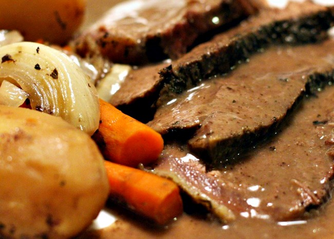 Awesome Red Wine Pot Roast