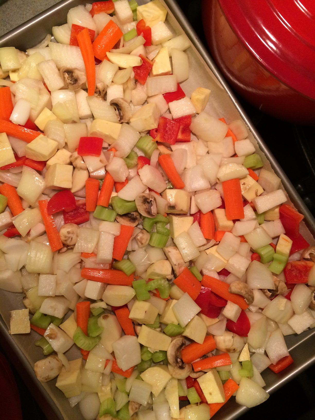 Vegetables Ready To Roast