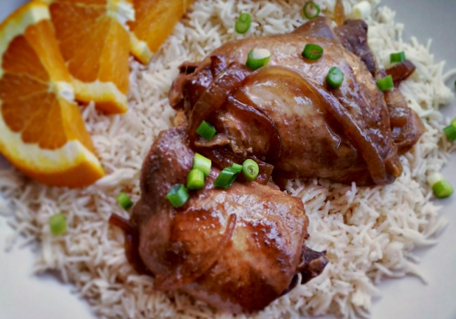 Slow Cooker Chicken Adobo