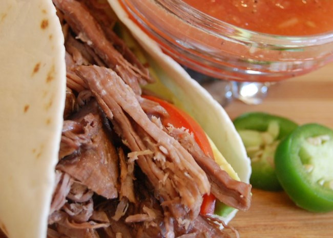 Kris' Amazing Shredded Mexican Beef