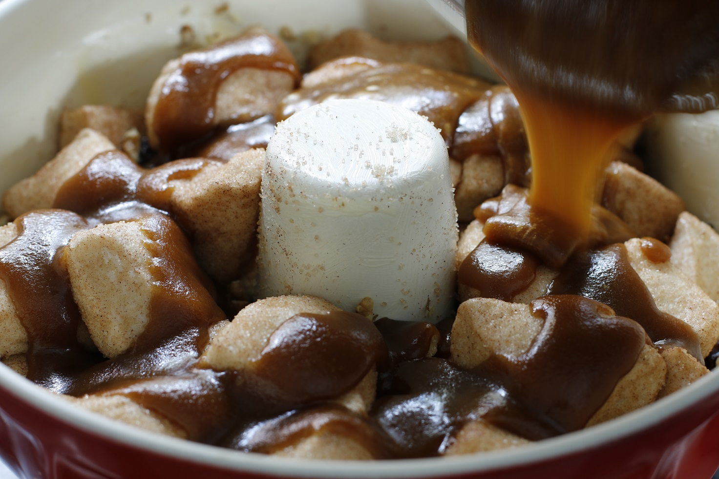 Monkey Bread Butter and Brown Sugar Sauce