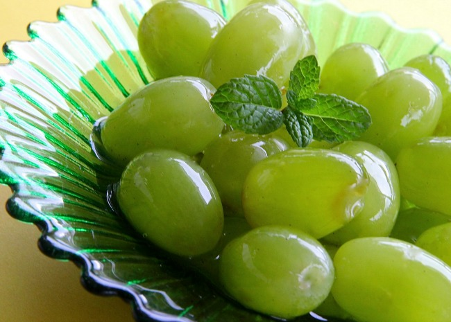 Spiced Grapes