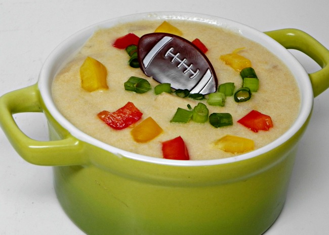 Football Sunday Beer Cheese Soup