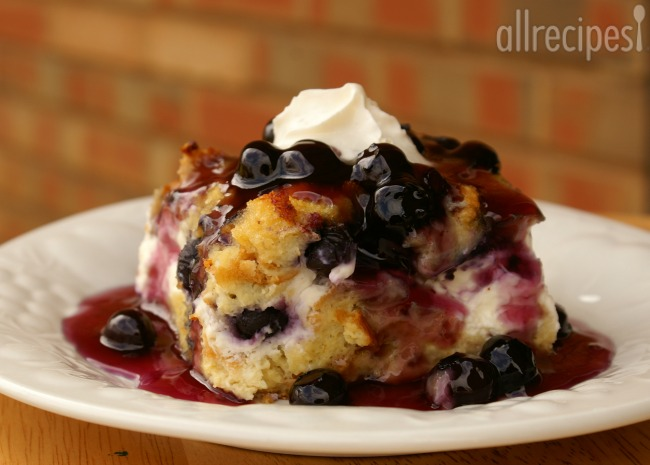 Overnight Blueberry French Toast