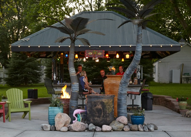 Backyard Tiki Bar