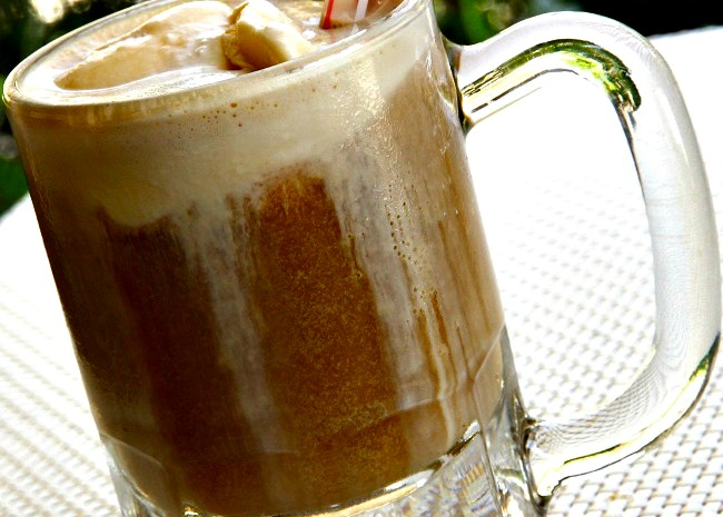 Rum Beer Float