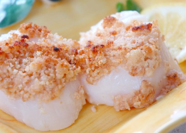 Dinah's baked scallops. Photo by cookin'mama