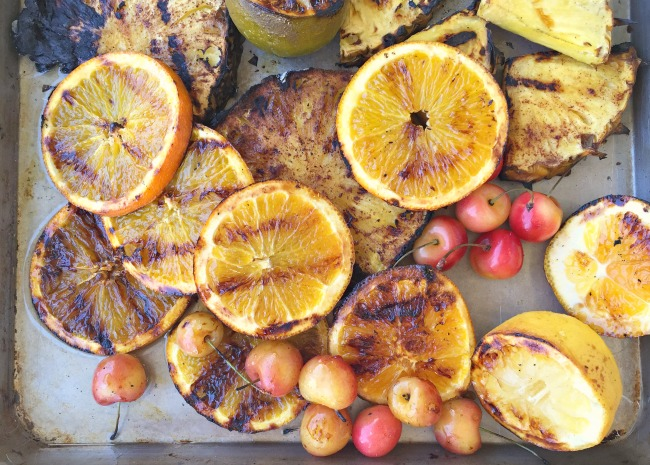 Grilled Fruit Photo