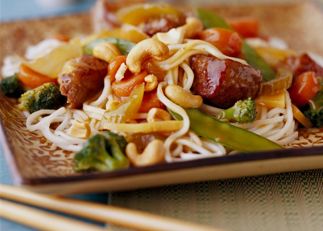 Lo mein. Photo by Meredith