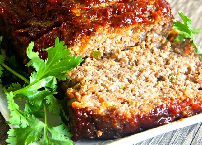 1333907_Brown Sugar Meatloaf with Ketchup Glaze_Photo by lutzflcat