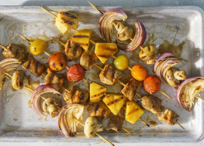 Kabobs. Photo by Meredith