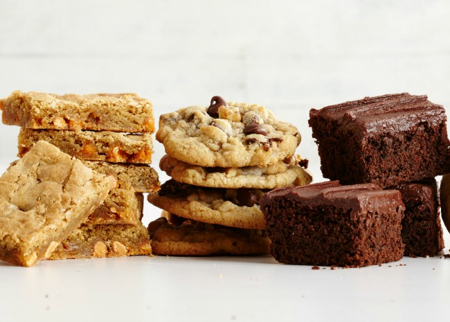Array of Cookies and Brownies