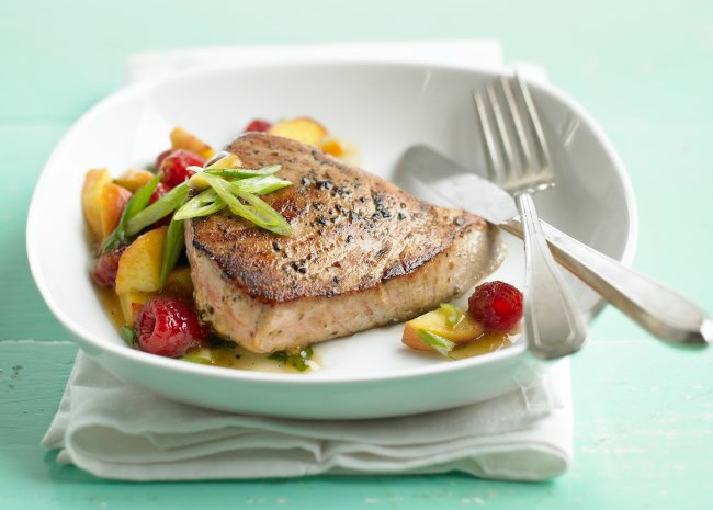 Simply Grilled Tuna