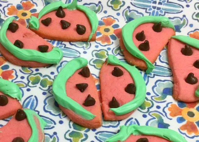 3712607 Watermelon Cookie Photo by amandarivers_ 650x465