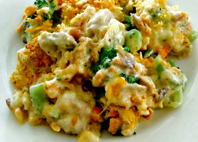 Broccoli Chicken Divan