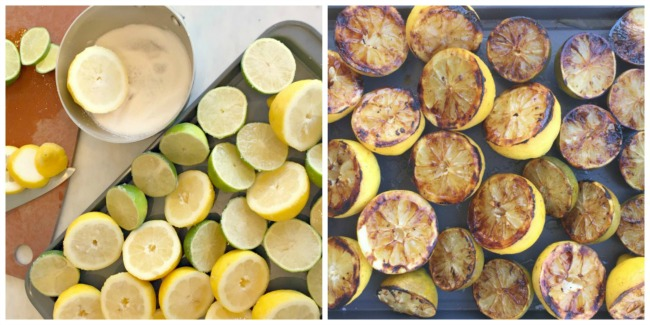 Sugared and Grilled Citrus