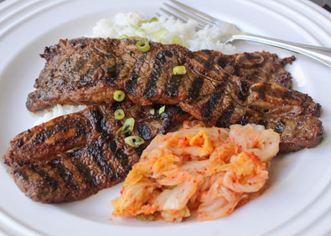 Grilled Korean-Style Beef Short Ribs