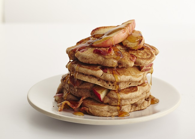 102266977 bacon apple pancakes photo by Meredith