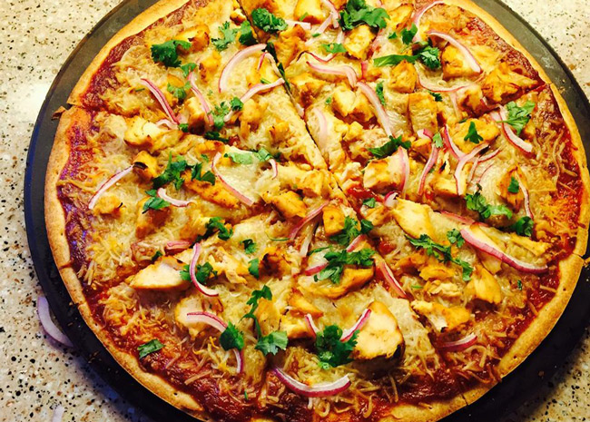 Unbelievably Awesome Barbecue Chicken Pizza