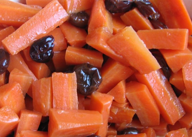 Carrots with Dried Cherries   Photo by Jan Jenkins