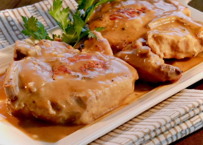 Instant Pot(R) Pork Chops and Gravy