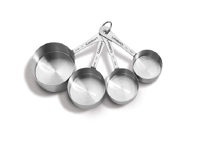 Cuisinart Stainless Steel Measuring Cups