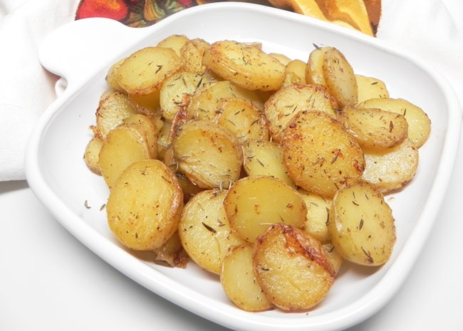 Instant Pot(R) Garlic Roasted Melting Potatoes