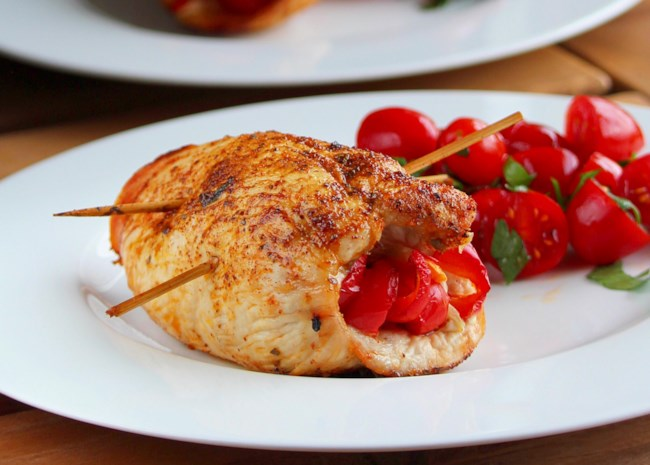 Mexican-Style Air Fryer Stuffed Chicken Breasts