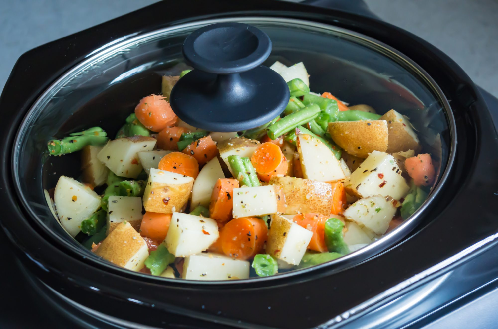 Slow Cooker Vegetables - Getty
