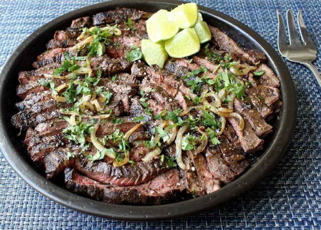grilled mojo beef