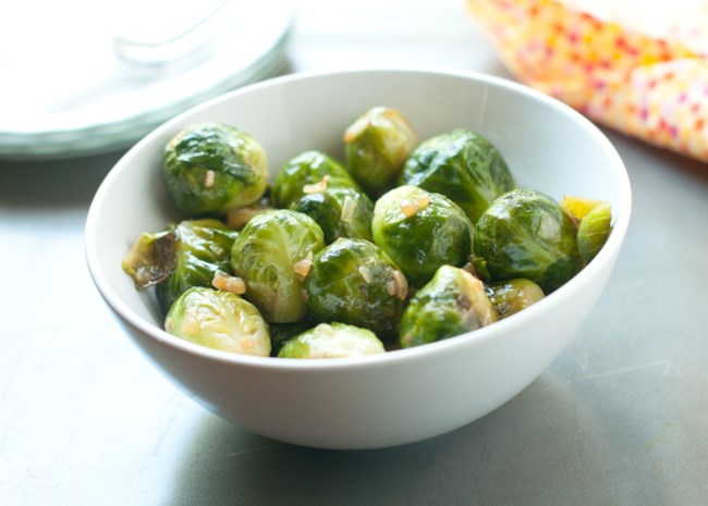Instant Pot(R) Roasted Brussels Sprouts