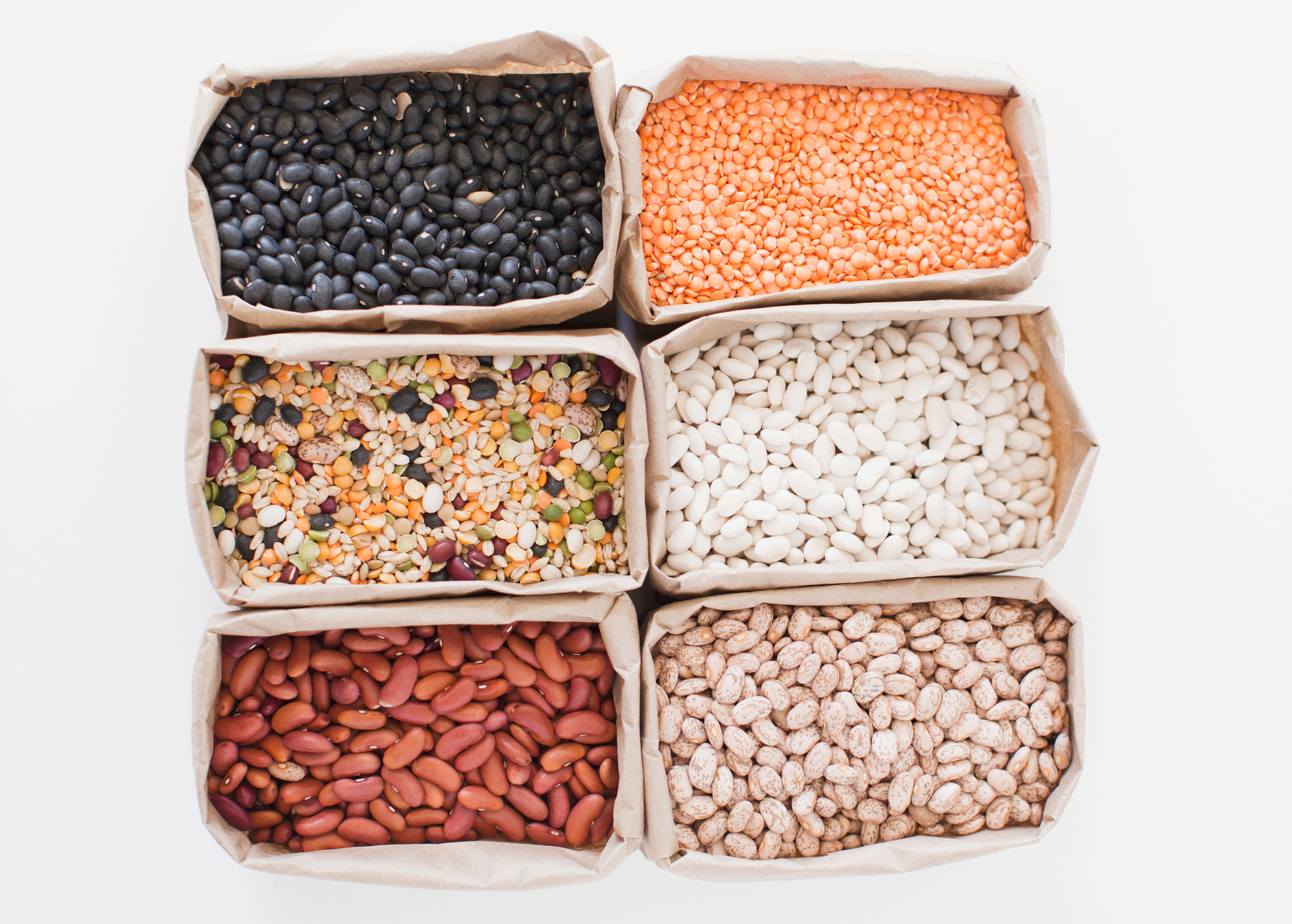 Dry Beans in Bags
