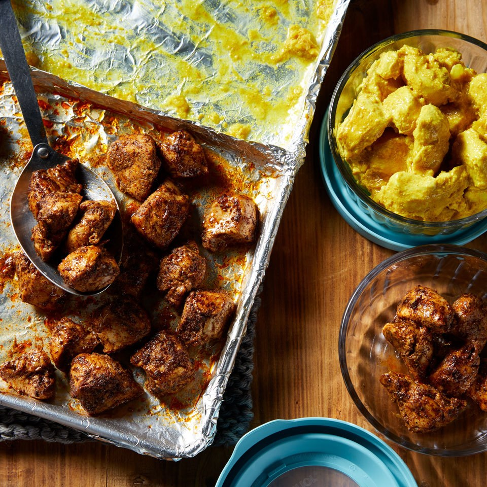 Meal-Prep Curried Chicken