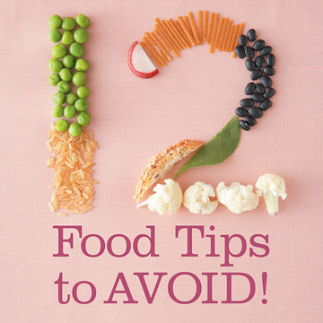 Food Tips You Should Ignore