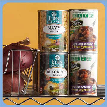 No-Salt-Added Canned Beans and Low-Sodium Bean Soups