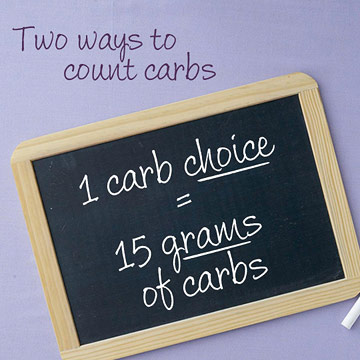 Two Ways to Count Carbs