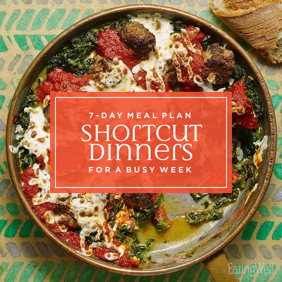7-Day Dinner Plan: Shortcut Dinners for a Busy Week
